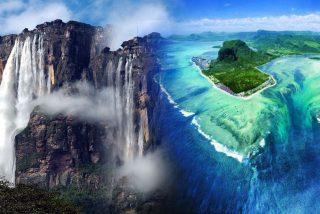 Top 5 de las cascadas más extrañas del mundo