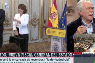 'Chani' estalla en laSexta contra la maniobra deleznable de colocar a Dolores Delgado como fiscal general