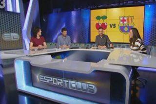 TV3 da vergüenza: ilustran el escudo del Ibiza con el logo de Pachá y el presidente del club monta en cólera
