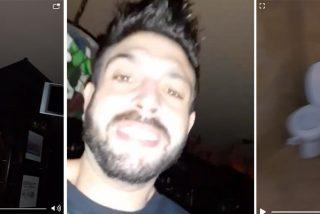 """El 'fenómeno' que se quedó encerrado en un bar borracho... también se grabó un vídeo: """"No sé ni dónde estoy..."""""""