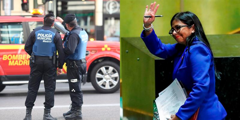 """La Policía Local de Madrid, contundente en el 'caso Ábalos': """"Nosotros hubiésemos detenido a Delcy Rodríguez"""""""