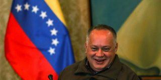 Diosdado Cabello, el 'hermano' de Pablo Iglesias, imita y se burla del acento español