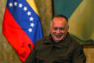Diosdado Cabello se recrea en la 'cobra' de Sánchez e Iglesias a Guaidó