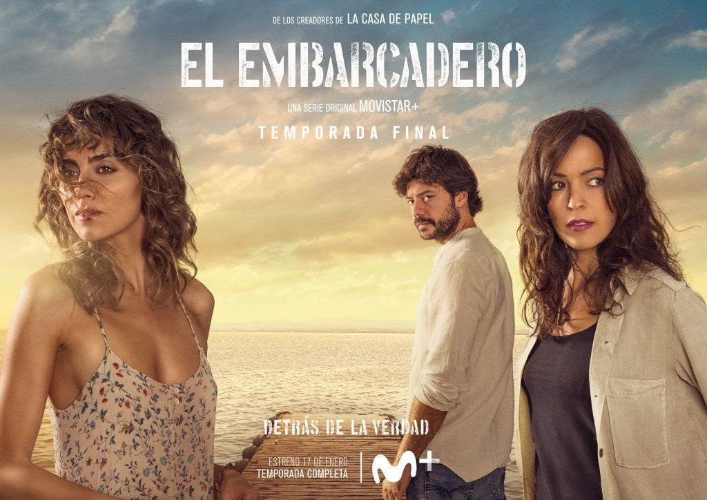 'El Embarcadero' de Movistar+: todo lo que debes saber sobre la segunda temporada