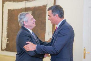 La 'conveniente' agenda de Sánchez: Recibirá al kichnerista Fernández tras el plantón a Guaidó