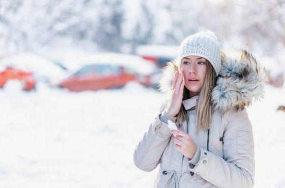 cuidar la piel en la nieve - protección SPF 50