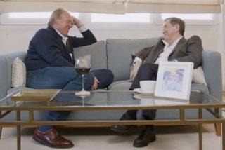Losantos muestra a Bertín Osborne cómo barre el suelo con Monedero y Garzón
