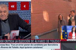 Así de fácil se lo pone la derecha a laSexta: Ferreras se 'pone las botas' con las desafortunadas palabras racistas de Josep Bou sobre Cayetana Álvarez de Toledo