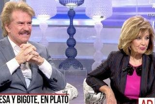 Un resentido Bigote Arrocet se prepara para dar la gran exclusiva de su ruptura con Mª Teresa Campos