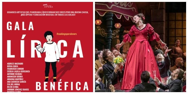 Gala lírica benéfica para fomentar la difusión de la ópera en las escuelas