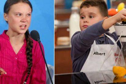 La izquierda siempre impone su 'ley': a un menor le tumban la cuenta por sus vivas a España pero Greta sigue haciendo política desde la suya