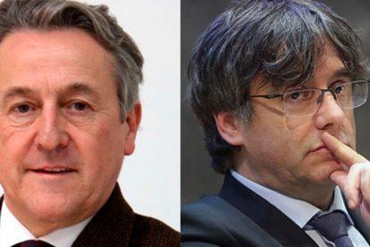 """La bestial respuesta de Tertsch al """"pelmazo y mentiroso"""" Puigdemont en los 'chats' del Parlamento Europeo"""