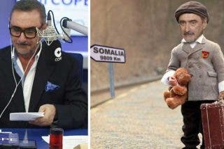 """Herrera enfría los ánimos de todos los podemitas que se afanan por mandarlo a Somalia: """"Solo por veros trabajar, me quedaré en España"""""""