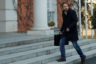 Pablo Iglesias, cazado: la foto más machista y clasista en Moncloa que retrata al líder de Podemos