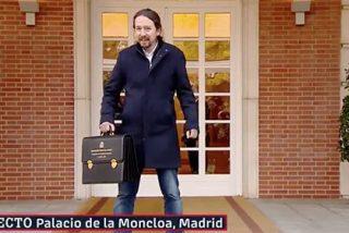 Consejo de Ministros con pasarela y Pablo Iglesias dando la nota: ni Mediaset lo hubiera hecho mejor