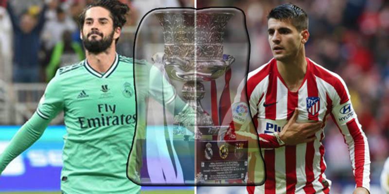 Supercopa de España: Isco y la presión alta, bazas del Madrid, Morata y el orgullo, opciones rojiblancas