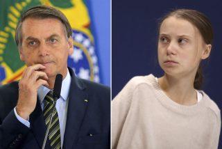 """El 'zasca' doble de Jair Bolsonaro a Greta Thunberg y Macron: dónde están ahora que """"Australia está ardiendo"""""""
