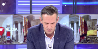 Joaquín Prat, destrozado tras enterarse de la muerte de un familiar en directo