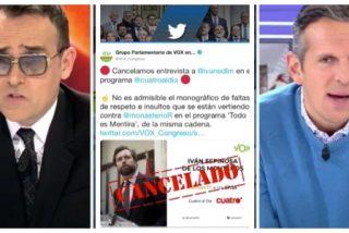 """El Quilombo / Joaquín Prat ajusta cuentas en directo con Risto Mejide: """"Puff, la broma de las bragas de Monasterio no me ha emocionado"""""""