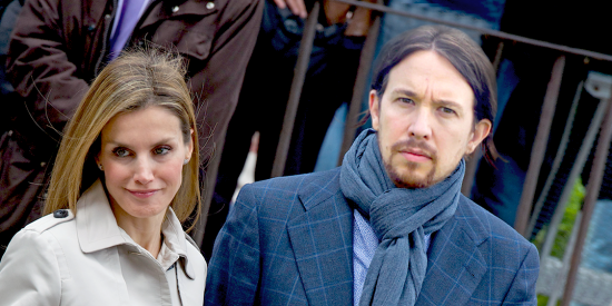 Arde Casa Real: la agenda oficial de Letizia está en manos de Podemos