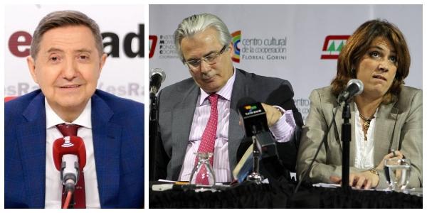 """Losantos ve fuego amigo en la filtración del escándalo de Ábalos: """"Han sido las cloacas de Garzón y Delgado"""""""