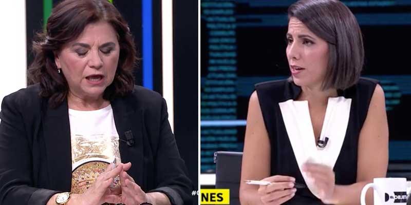 La podemita Lucía Méndez prefiere cuidar su silla en Atresmedia y tirar mierda contra su propio periódico El Mundo para defender a Pastor
