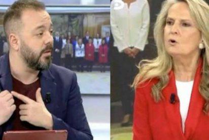 """Antonio Maestre sigue flamenco tras quedar como un 'marichulo' con Ana Rosa e Isabel San Sebastián: """"Si me llaman, ¡me oyen!"""""""