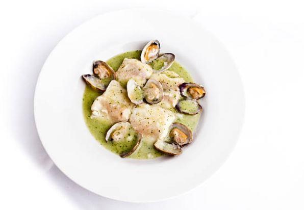 Salsa verde para pescado muy fácil