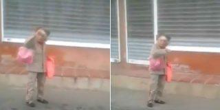 Venezuela: la 'abuelita' alistada por el criminal ejército chavista