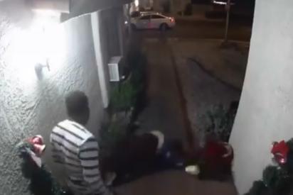 El vídeo del inquietante secuestro a una mujer en Las Vegas