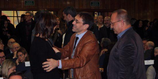 Monedero se cuela en la 'fiestita política' de Pablo Iglesias en Sanidad