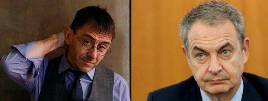 La peligrosa obsesión de Monedero y Zapatero con el FAES de Aznar