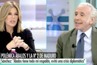 """Eduardo Inda 'despeluca' a Esther Palomera por los navajazos entre ministros: """"¡A ver si te enteras!"""""""