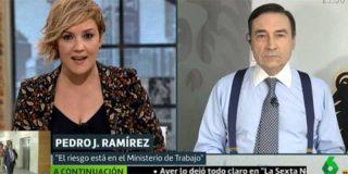 """El Burladero / Pedrojota Ramírez mendiga ayudas institucionales desde Atresmedia alabando """"la inteligencia"""" de Iglesias y atacando a VOX"""