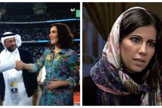 Isabel Díaz Ayuso desafía al régimen saudí negándose a llevar velo y las redes se lo restriegan en la cara a Ana Pastor