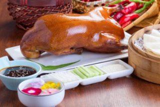 Pato a la pekinesa o laqueado