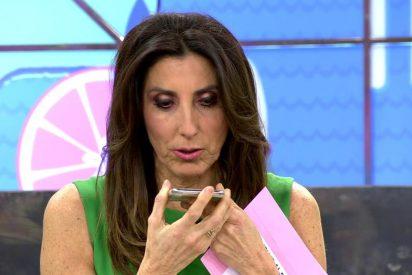 Paz Padilla publica una foto y todos se fijan en lo mismo: mucho ojo 'su Tinder'
