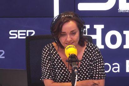 Pepa Bueno aplaude con un ataque a la bandera española la reunión entre Sánchez y Torra