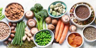 Alimentos con proteínas vegetales