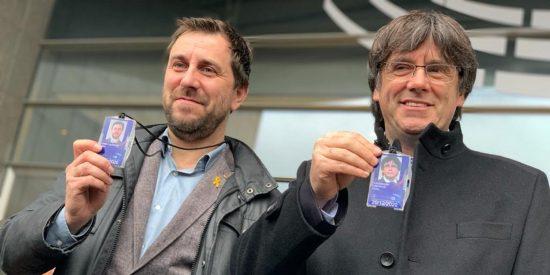 Puigdemont, Comín, IU y Podemos: los comunistas que votan a favor de Maduro en la UE