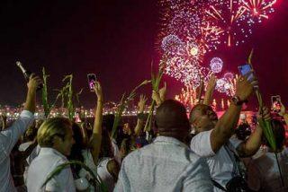 Casi dos millones de turistas recibieron el año nuevo en Río de Janeiro