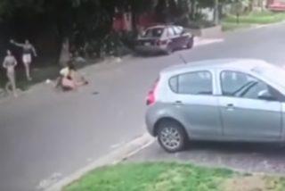 Karma inmediato: Así se defendió una experta en kick boxing de un intento de robo