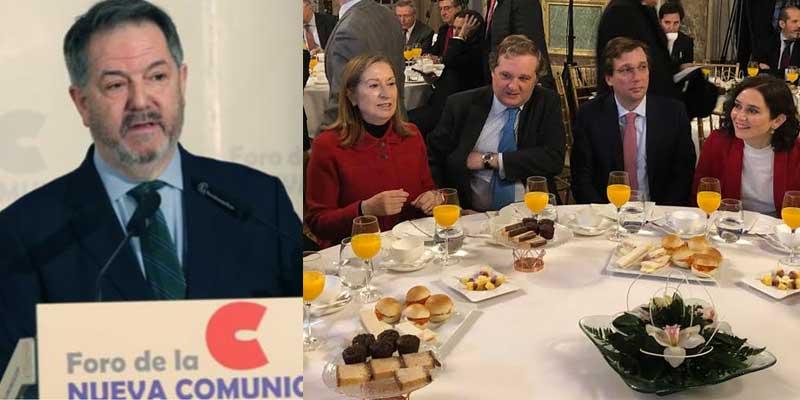 """El director de ABC lee la cartilla al PP en su cara: """"La derecha ha maltratado a los medios afines"""""""