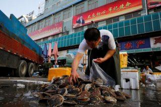 Mercado en Wuhan: epicentro del brote del coronavirus