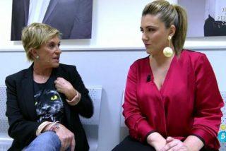 Chelo García Cortés se acobarda de manera indecente ante Carlota Corredera: el cara a cara más vergonzoso