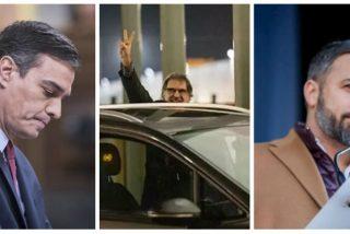 Sánchez monta una cruzada contra el 'pin parental' de VOX mientras suelta golpistas y reabre 'embajadas' catalanas