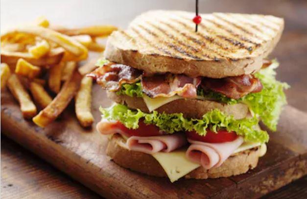 Recetas de sándwiches americanos - sándwich club