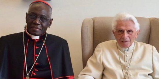Benedicto XVI y la gran mentira detrás del libro publicado por el cardenal Sarah