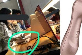 ¿A favor o en contra? Una universitaria carga su Satisfyer en la biblioteca y genera una oleada de reacciones virales