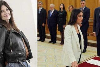 "Cristina Seguí se pasa Twitter ilustrando la bajada de pantalones de Irene Montero ante el Rey: ""La fierecilla domada"""